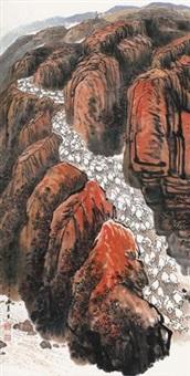 秦原高风 (qin landscape painting) by xu yisheng