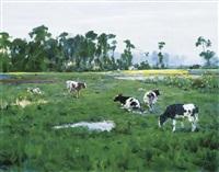 the cow by du yongqiao