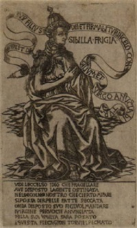 the phrygian sibyl by baccio baldini