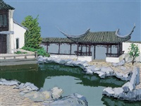classical chinese garden by hong haochang