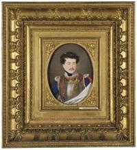 portrait of an officer (porträt eines offiziers) by caspar gerhard klotz