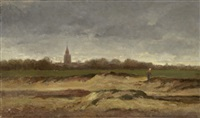 landschaft in der normandie by robert roche