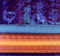 blue painting in sharpsville - reincarnation by emilio cruz