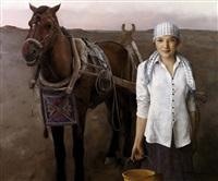 库车少女 (kuqa girl) by yuan zhengyang