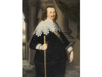 portrait of sir john trelawny of pelynt, 1st baronet (1592-1664) by gilbert jackson