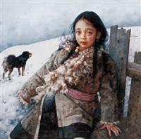 秋风掠过荒原 by ai xuan