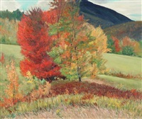 autumn in vermont by arthur harold lindberg