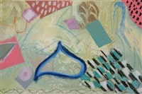 untitled (abstract) (+ another; 2 works) by lamar briggs
