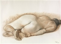 desnudo dormida by francisco zúñiga