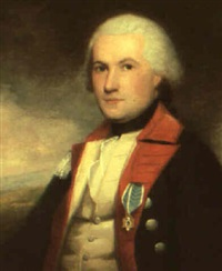 portrait of major james fairlie by ralph earl