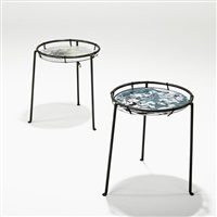 side tables (pair) by donald monell