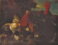 hühnerhof (nach melchior de hondecoeter) by gustav konrad süss