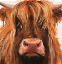a highland cow by georgina s. mcmaster
