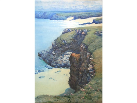 harlyn bay cornwall mother iveys bay pair by a moulton foweraker