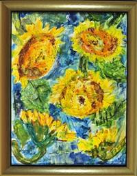 sonnenblumen by michaela krinner