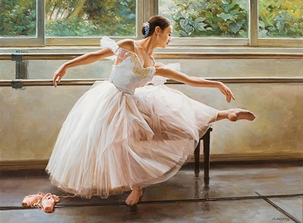 ballerina by alexander akopov