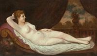 auf einer recamiere liegt eine nackte venus, mit blick in einen garten im hintergrund by anonymous-italian (19)