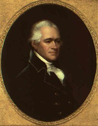 portrait of alexander hamilton by ezra ames