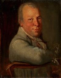 porträt des joseph lindegger von geuensee by joseph reinhart