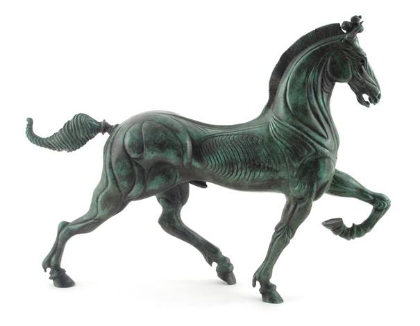 Saatchi Art: Cavallino Rampante Prancing Horse Bronze Sculpture ...