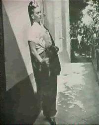 la sala de frida kahlo & frida kahlo, cogoacan by emmy lou packard