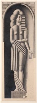 amour divin (den gudomliga kärleken) eller anti-paranoja - försök till syntes av signorelli och léger by otto gustav carlsund