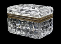 table casket by baccarat