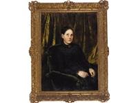 mujer con vestido negro by jesus rodriguez corredoyra de castro