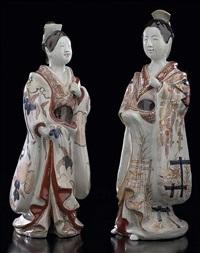 kurtisanen (2 works) by japanese school (17)