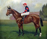 lord annandale and washing day, both ridden by r. cooper (pair) by clarence hailey