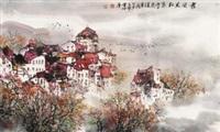 雾开见红叶 by xiao han