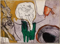 gele hemel (+ 2 others; 3 works) by hannes postma