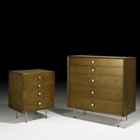 two dressers by george nelson