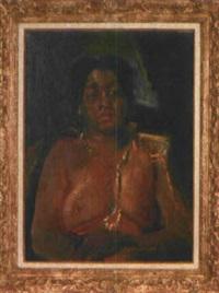 halbakt einer hawaiianerin by alexander leo soldenhoff