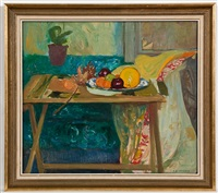 still life with grapefruit by gordon stewart cameron