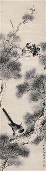 报喜图 (calligraphy) by jiang yu