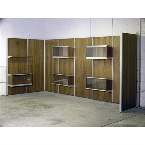 eight-bay comprehensive panel system by george nelson