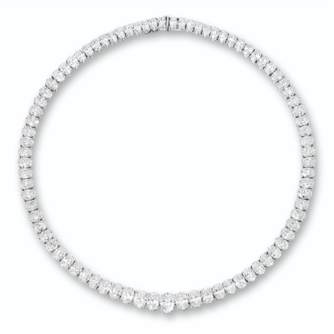 a rivière necklace by asprey garrard