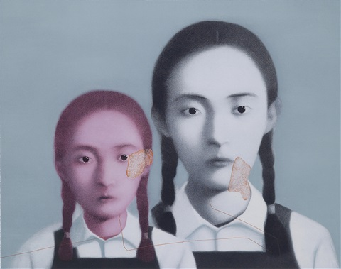 two sisters by zhang xiaogang