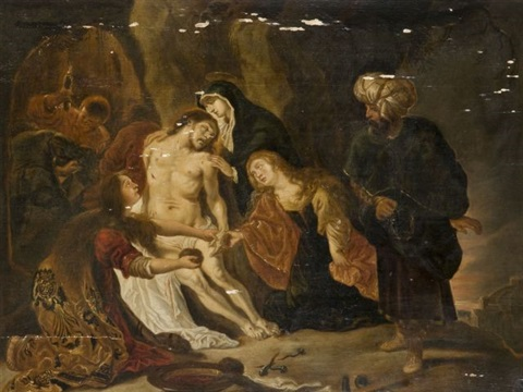 la déploration sur le christ mort by cornelis schut the elder