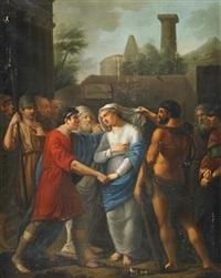 auslieferung der briseis by johann dominicus fiorillo