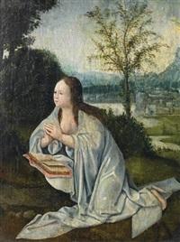 die büßende maria magdalena vor der grotte by flemish school-bruges (15)
