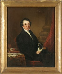 portrait of thomas benjamin adair by william dunlap