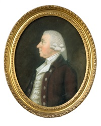 portrait of daniel minet, esq. by james sharples