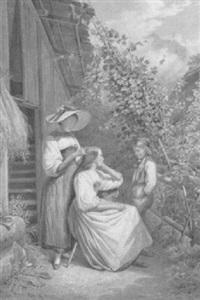 la coiffure. genreszene vor einem bauernhaus by daniel-frederic-william moritz