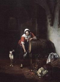 in the wine cellar by elisabeth alida van haanen