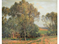 the path through the field by sir alfred east