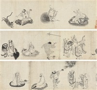 sixteen arhats by chinese school (17)