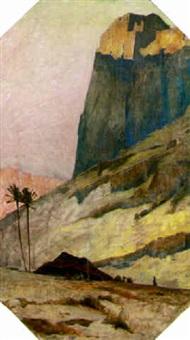 gorge of koutaru by paul buffet