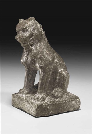 lion by anonymous chinese tang dynasty